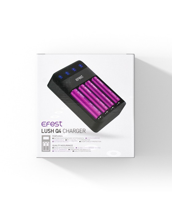 Efest LUSH Q4 oplader.