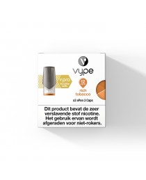 Vype -  ePen  - Ripe Rich Tobacco  3 POD (2 pack)