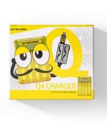 Nitecore Q4 - Geel - Batterij Oplader