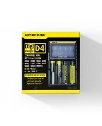 Nitecore Digicharger D4 batterij oplader