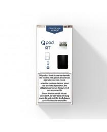 Justfog Qpod  Zwart Startset - 1.9ML