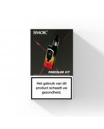 SMOK Procolor Belgische- Vlag  + TFV8 Big Baby Clearomizer - 225W Startset