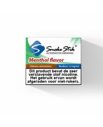 SmokeStik- Menthol Cartridges  - Bruin 12MG 5 stuks