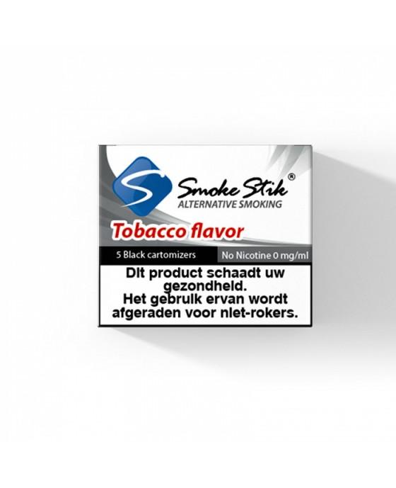 SmokeStik Tobacco - Zwart Cartridges -  5 stuks
