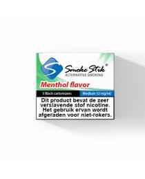 SmokeStik Menthol - Zwart Cartridges - 5 stuks