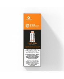 Geekvape Aegis pod/Wenax Stylus Coils - 0.6Ohm (5 St.)